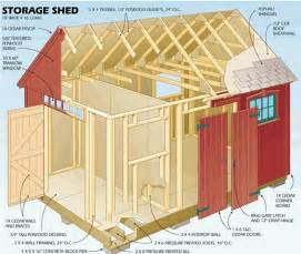 bobbs free 12x16 shed plans small