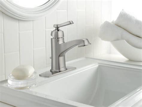 faucet com 84805srn in spot resist brushed nickel by moen