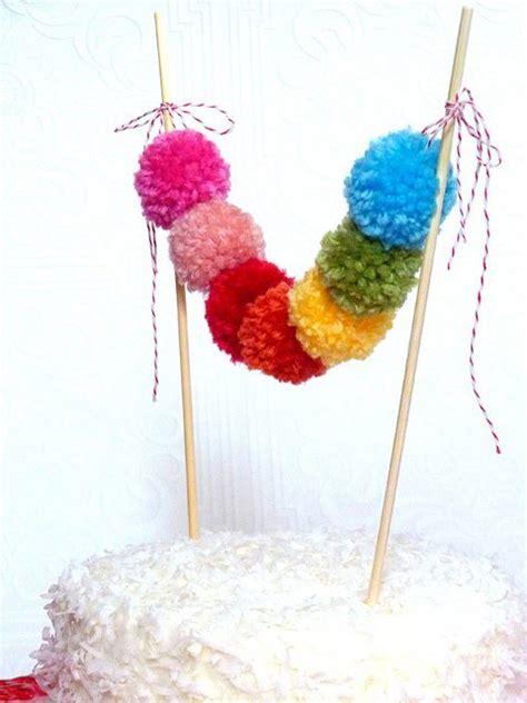 cute  easy diy pom pom decoration ideas