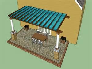 Covered Pergola Designs Plans
