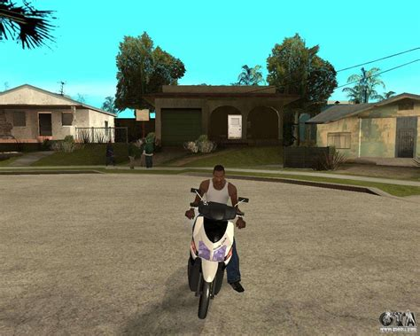 Scoopyi Modified by Honda Click For Gta San Andreas