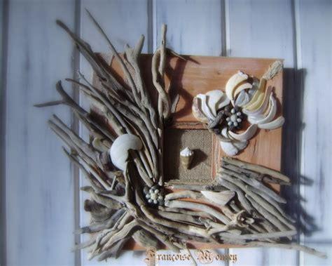 tableau bois flott 233 perles de nacres et coquillages nature creation coquillages et v 233 g 233 taux