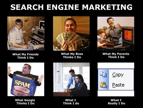 Meme Advertising - search engine marketing meme okay this is actually one of the clever ones seo and stuff