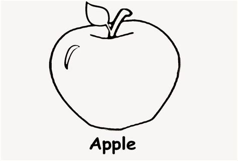 Pictures Of Apples To Color Free Coloring Pictures