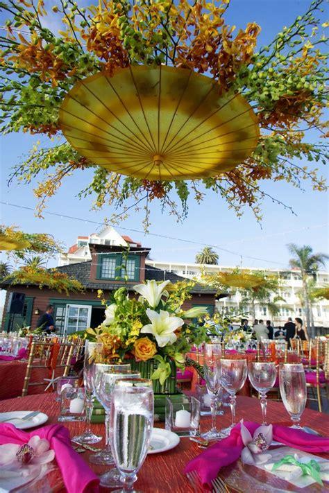 Umbrella Garden Decoration by I Did This Wedding When I Was An Intern In San Diego Ca