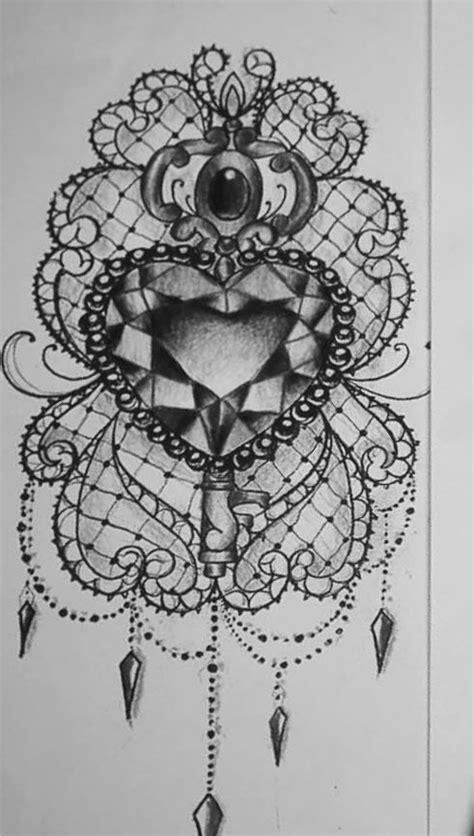 Pin by Doris M Ackilli on Desenhos A Lápis | Lace tattoo