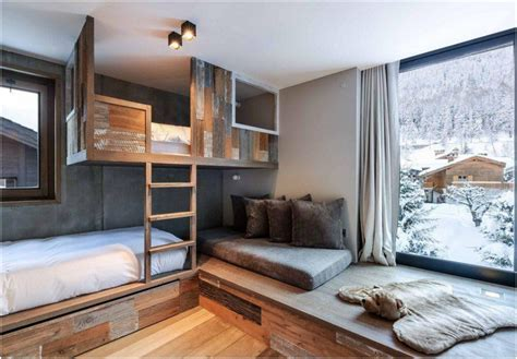 chambre chalet luxe chalet blossom hill courchevel luxe passions