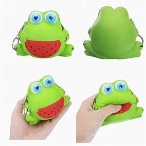 12cm Squishy Frog Slow Rising Animal Squishy Collection