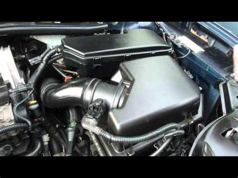 change maf mass air flow meter sensor volvo xc youtube
