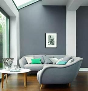 deco salon gris 88 super idees pleines de charme With peinture claire pour salon
