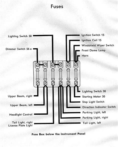 1957 Bug Wiring Diagram by 1954 Wiring Diagram Thegoldenbug