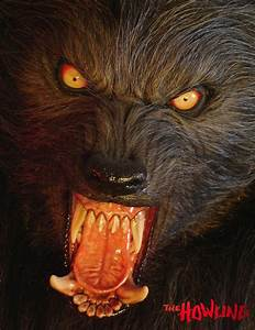 Lifesize Howling Werewolf Statue - The Green Head