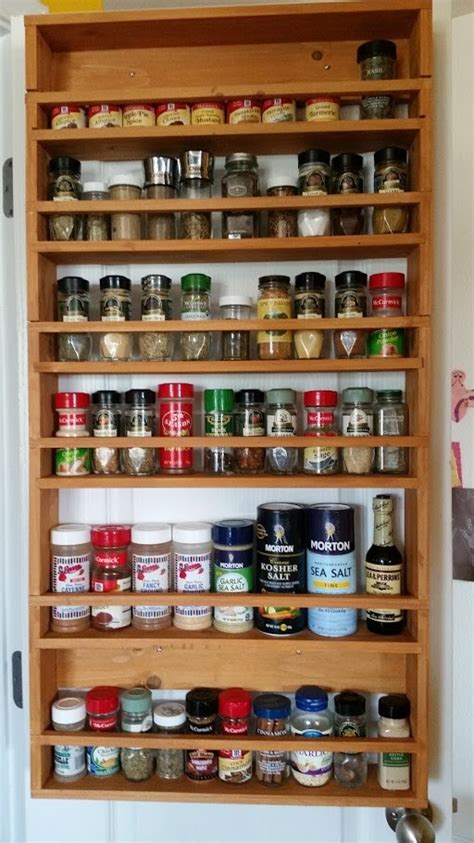 White Wood Spice Rack by White Door Spice Rack From 2x4s Diy Projects