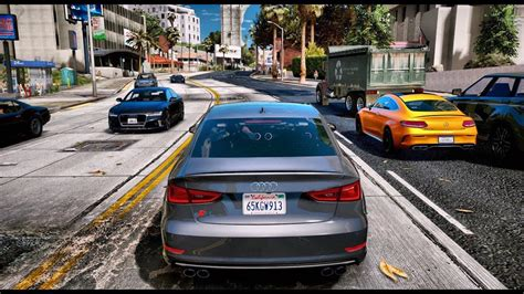 GTA 6 Graphics - Audi S3 Limousine 2015! NEW REDUX ...
