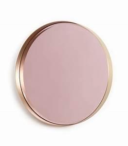 Miroir Cuivre Rose : les miroirs apartment miroir miroir design decoration ~ Melissatoandfro.com Idées de Décoration