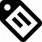 Tag Icon Material Text Svg Outline Onlinewebfonts