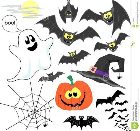 halloween clipart vector stock vector illustration  childish