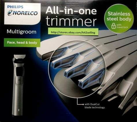 philips norelco multigroom trimmer attachments