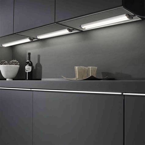 3pcs Kitchen Under Cabinet Shelf Counter Led Light Bar