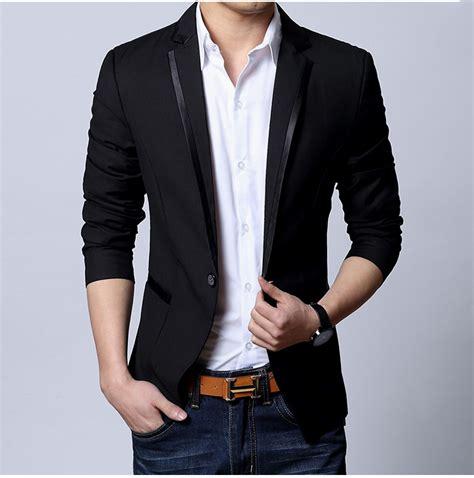 Menu0026#39;s Fashion Groom Suits Slim Fit Blazer - OneSimpleGown.com
