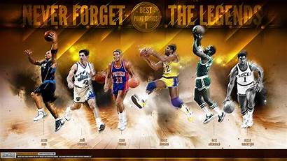 Legends Greatest Nba Guards Point Wallpapers Basketball