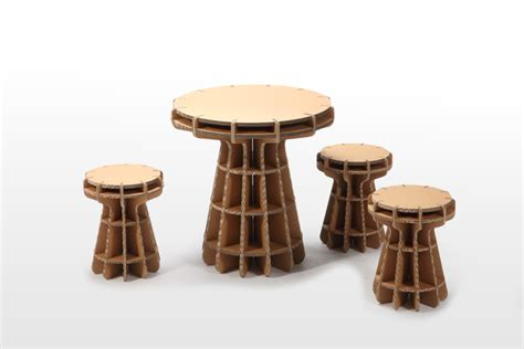 recycle recycled cardboard furniture
