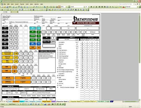 scoreforge pathfinder character creator download