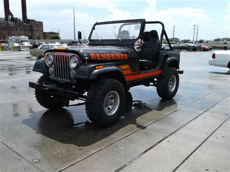 renegade jeep cj7 1984 jeep renegade cj7 for sale at vicari auctions new