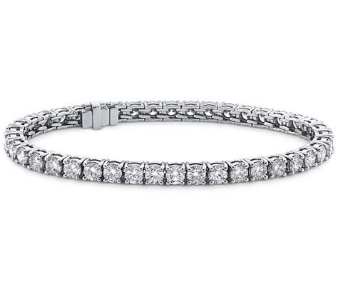 Blue Nile Signature Ideal Cut Diamond Tennis Bracelet In. Green Gold Jewellery. Etched Necklace. Sicura Watches. Linjer Watches. Cubic Zirconia Rings. Lanyard Bracelet. Champion Watches. Daisy Pendant