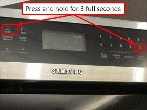 calibrate samsung flex duo oven   home