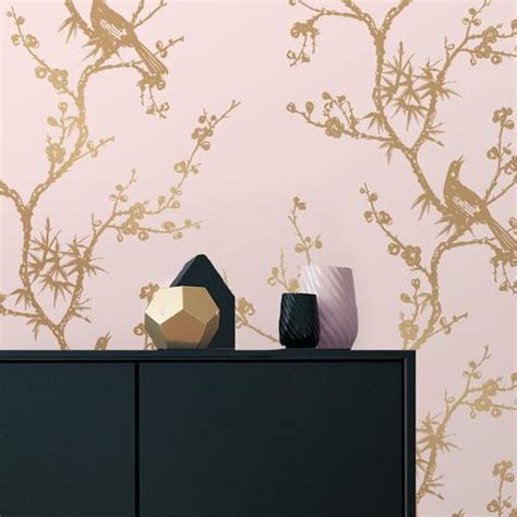 pink wallpaper classic  contemporary