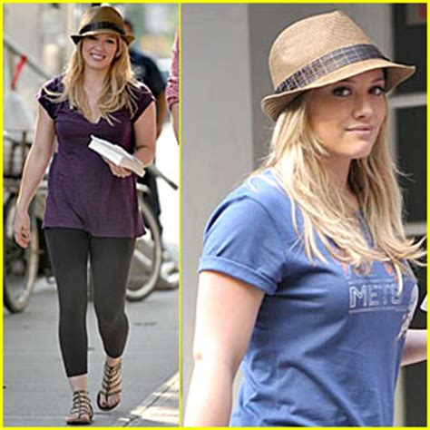 Hilary Duff Gossip Girl Gorgeous Just Jared