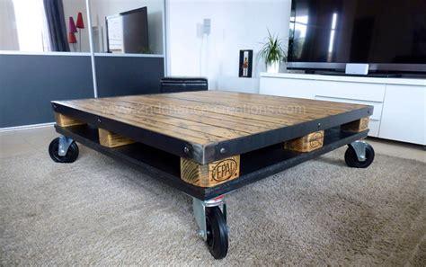 petit meuble de cuisine but table basse style industriel industriel salon autres