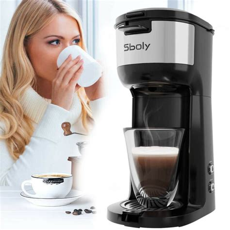 2⃣ 1.5 cup of water in the bottom, add trivet 3⃣ grab paper towels or plain white paper 4⃣cut the paper to the desired size, dip into water. Sboly Coffee Maker Brewer Personal Machine 14 oz Thermal Drip Instant K-Cup Pod   eBay