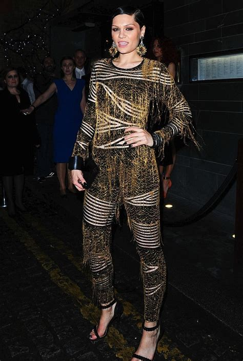 julien macdonald jumpsuit teewhy hive j s 2014 brit awards sony after