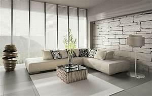 71 wohnzimmer tapeten ideen wie sie die wohnzimmerwande With balkon teppich mit wohnzimmer 3d tapeten