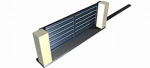 Portail Alu Coulissant 3m : portail coulissant alu ajour lame horizontale leportailalu ~ Edinachiropracticcenter.com Idées de Décoration