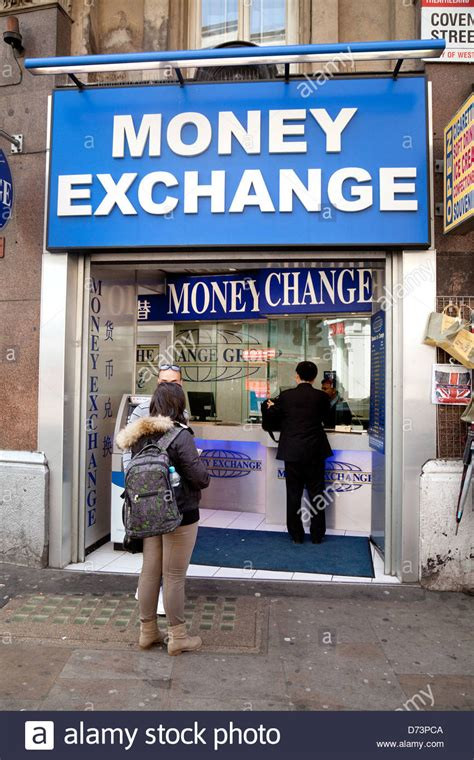 bureau de change 7 at a money exchange bureau de change shop for