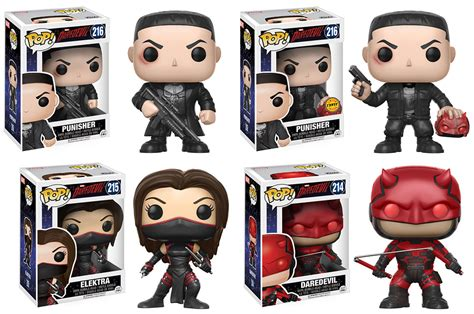 Upper Deck Customer Service by Daredevil Tv Complete Set W Chase 4 Funko Pop