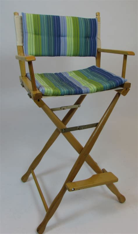 clearance gold medal 30 quot classic directors chair w padded