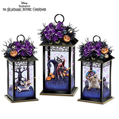 disney nightmare  christmas centerpiece collection