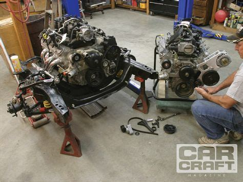 chevy ls accessory drive gen iiiiv small block swap