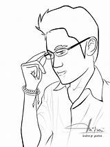 Coloring Pages Guys Cool Celwall Printable Getcolorings Books sketch template