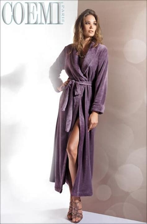 robe de chambre longue femme robe de chambre longue