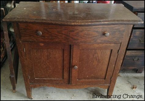 Cabinet Makeovers by Antique Washstand