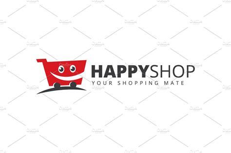 shopping cart logo logo templates creative market