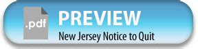 nj notice to quit form new jersey notice to quit