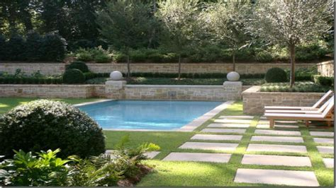 rectangle garden home and garden spas rectangle swimming pool landscaping ideas landscaping around inground