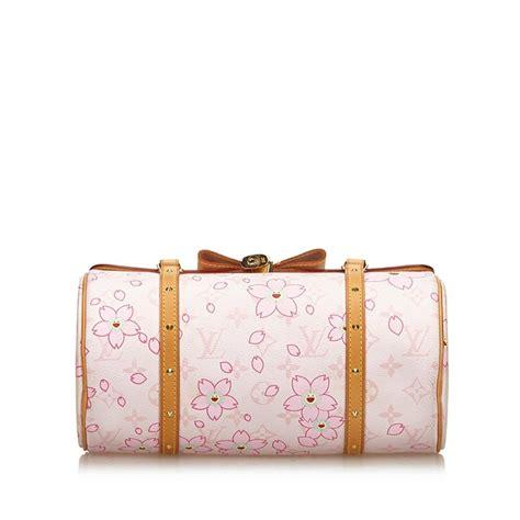 louis vuitton white  multi monogram cherry blossom papillon  sale  stdibs