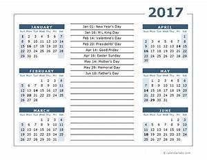 2017 calendar template 6 months per page free printable With free 6 month calendar template
